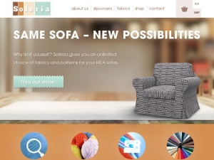 Soferia - amazing covers for IKEA sofas
